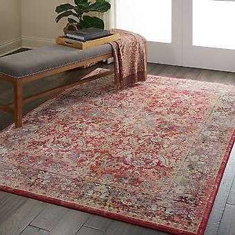 Ankara alfombras Global Anr02 en rojo