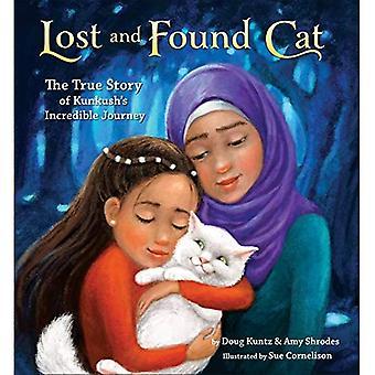 Gato de achados e perdidos: A verdadeira história da incrível jornada do Kunkush