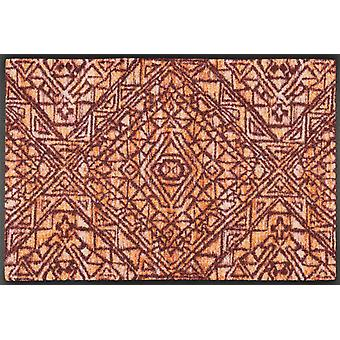 wash + dry red washable dirt mat doormat harmony