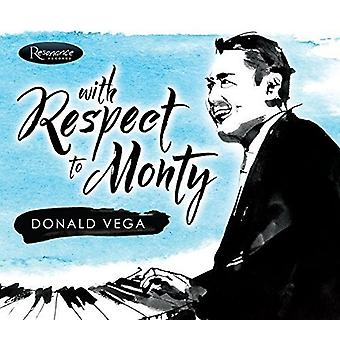 Donald Vega - With Respect to Mont [CD] USA import