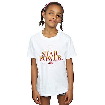 Marvel Captain Marvel Star Power T-Shirt für Mädchen