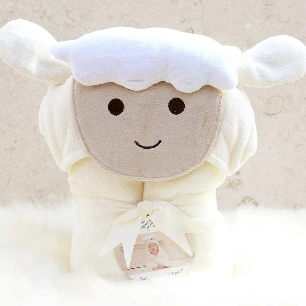 Spring Lamb baby towel