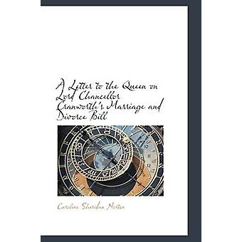 Ein Brief an die Königin auf Lord Chancellor Cranworths Ehe und Scheidung Bill von Norton & Caroline Sheridan