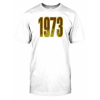 1973 - Geburtstag Jahr Kinder T Shirt