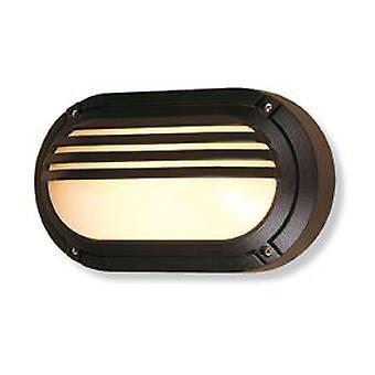 Firstlight-1 Lichtwand lamp-60W zwart IP54-V401BK