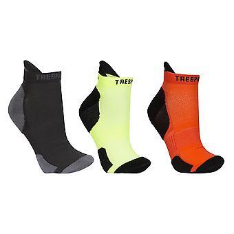 Trespass Unisex Vandring impact Protection trainer sokken (3 paar)