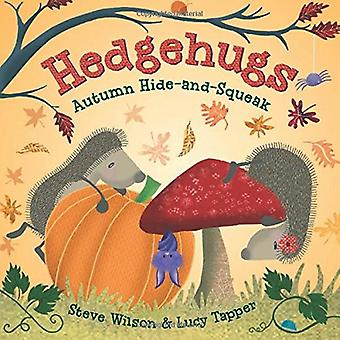 Hedgehugs - Autumn Hide-And-Squeak by Steve Wilson - 9781250127907 Book