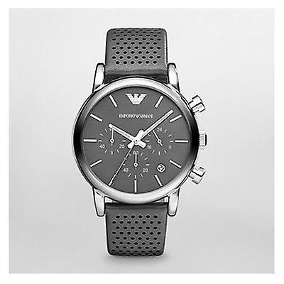 Emporio Armani Ar1735 Gents Classic Silicone Strap Watch