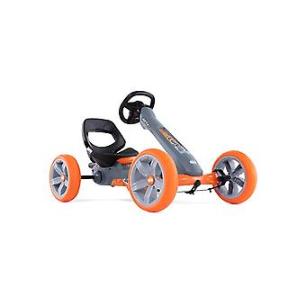 BERG Reppy Racer Junior Pedal vai Kart com Soundbox cinza/laranja