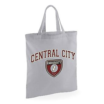 Flash Central City universiteit Tote Bag
