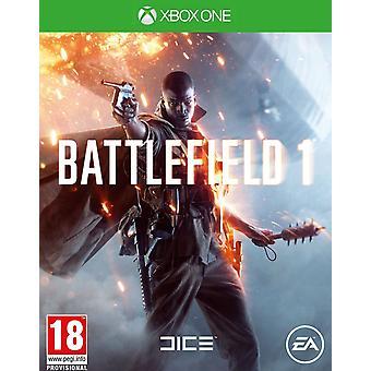 Battlefield 1 Xbox One-spill (engelsk/arabisk boks)