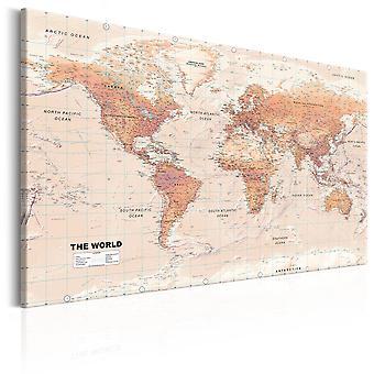 Billede - World Map: Orange World