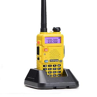 Professional Walkie Talkie with flashlight, yellow