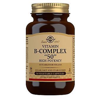 סולגאר פורמולה ויטמין B-מתחם 50 ומהווה גישה 50 (1120)