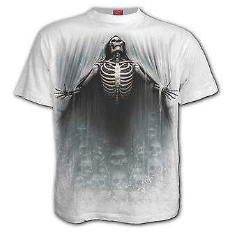 スパイラル - 解放された - 白メンズTシャツ