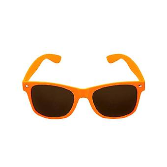 Orange Neon Wayfarer Glasses