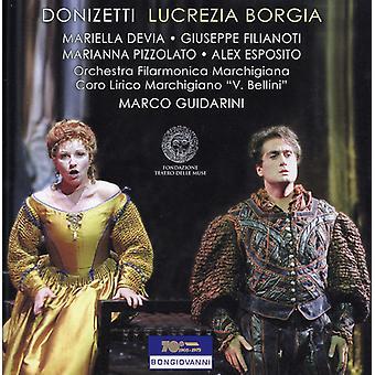 G. Donizetti - Gaetano Donizetti: Lucrezia Borgia [CD] USA import