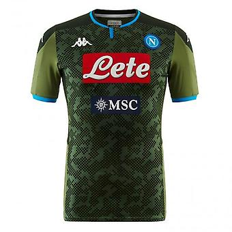 2019-2020 Napoli Kappa borte skjorte