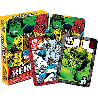 Playing Card - Marvel - Heroes Comics Poker Card Game New Licensed 52324