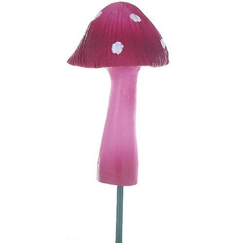 Spotted Mushroom on Stick Pink