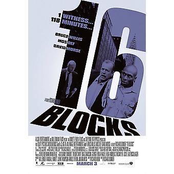16 blocchi (doppio lato regolare) (2006) Poster del cinema originale