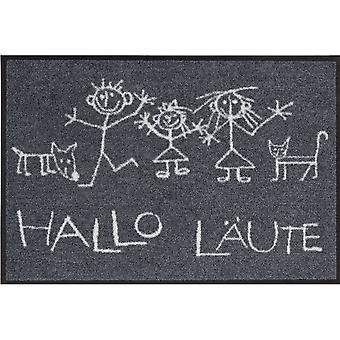 Salon Leeuw voet mat wasbaar Hi ring 50 x 75 cm, SLD0107-050 x 075