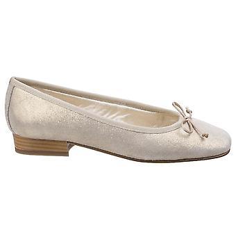 Riva Womens/Ladies Ledro Suede Leather Ballerina Court Shoe