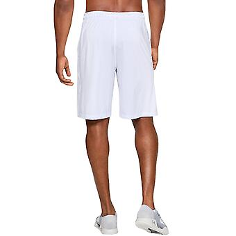Under Armour Mens Raid Sports Gym Training Active Shorts Bottoms - White