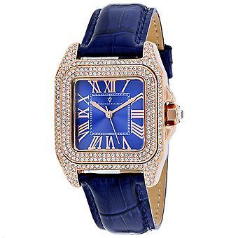 Christian Van Sant Mujeres's Radieuse Reloj de marcación azul - CV4427
