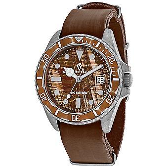 Christian Van Sant Montego Vintage Brown Dial Watch - CV5201
