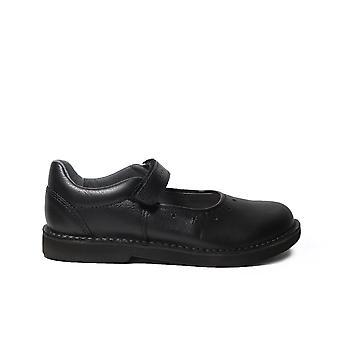 Ricosta Sabrina zwart leer meisjes Mary Jane school schoenen