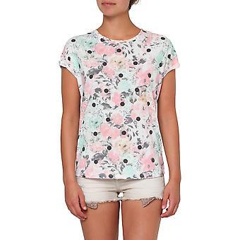 ONeill Ouvrez votre coeur Short Sleeve T-Shirt en blanc Aop