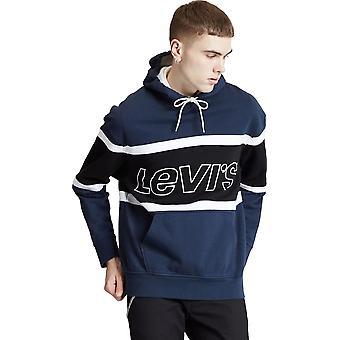 Levi's Pieced Colour Block Hoodie Blau 12