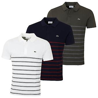 Lacoste Herren PH8711 gerippten Kragen Polo Shirt