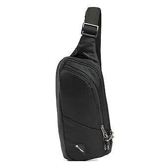 Pacsafe Vibe 150 Crossbody Pack (Negro Jet)