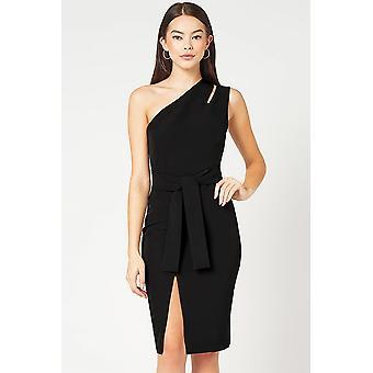 One Shoulder Cut Out Detail Dress