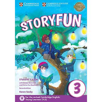 Storyfun for Movers Level 3 Students Book with Online Activities and Home Fun Booklet 3 by Karen Saxby