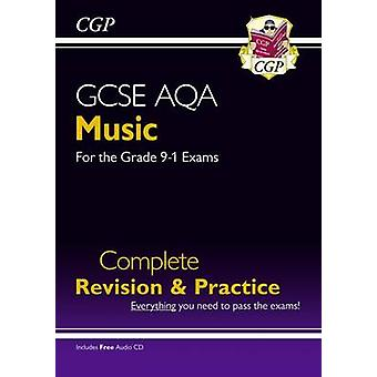 GCSE Music AQA Complete Revision  Practice with Audio CD by CGP Books