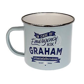 History & Heraldry Graham Tin Mug 45