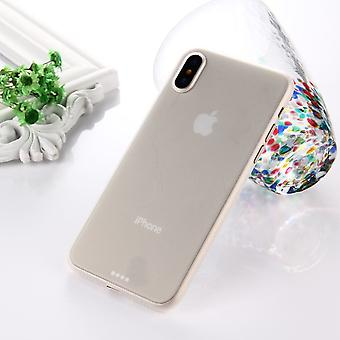 For iPhone XS,X Back Case,Wear-resistant High-Quality Protective Cover,White