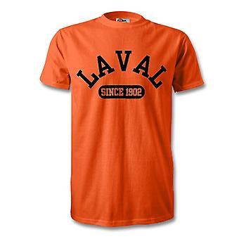 Laval gegründet 1902 Fußball Kinder T-Shirt
