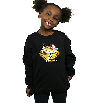 Animaniacs Girls Logo Crest Sweatshirt