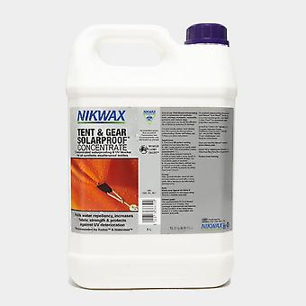New Nikwax Tent and Gear SolarProof Concentrated 5L Spray on water-repellent White