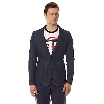 Trussardi Men's Blue Blazer