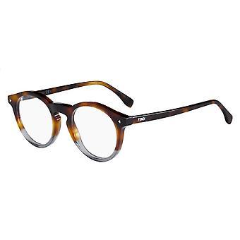 Fendi FF0236 AB8 Havana-Grey Glasses