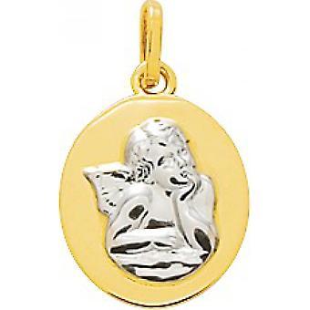 M daille angel gold 18 carat bicolor (18K)