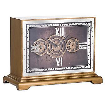 Hill Interiors Mechanism Mantel Clock