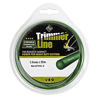 2.00mm 25M Tough Nylon Trimmer Strong Spool Line Easy Fitting Long Lasting