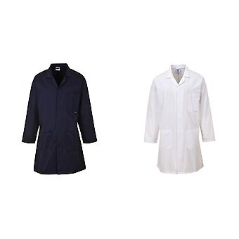 Portwest Standard Workwear Lab Coat (Medical Health) (Pack of 2)