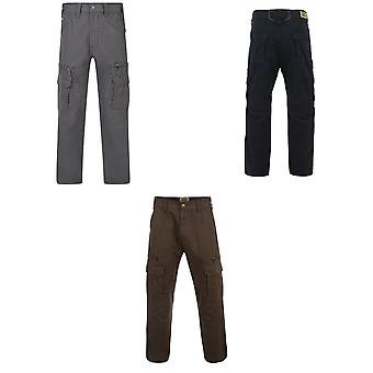 Kam Jeanswear Mens Heavy Duty reisi housut